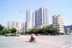 Shenzhen china: xixiang highway landscape Royalty Free Stock Images