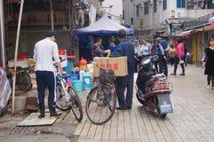 Shenzhen, China: Xixiang Market Royalty Free Stock Photos