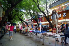 Shenzhen china: xixiang pedestrian street Royalty Free Stock Images