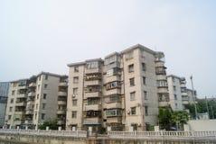 Shenzhen, China: Xixiang River and buildings Stock Photo