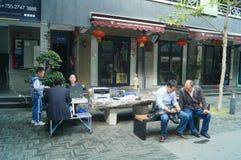 Shenzhen, China: Yan Union Hotel Culture Park Royalty Free Stock Photo