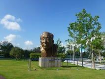 Shenzhen, China: Yuan Geng-standbeeldtribunes in Shenzhen-talentenpark Stock Afbeelding