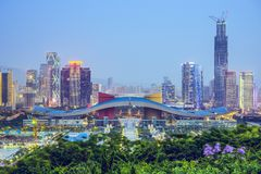 Shenzhen, Chine Photographie stock