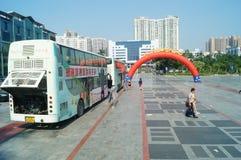 Shenzhen, Chine : activités volontaires de don du sang Images stock