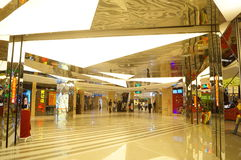 Shenzhen, Chine : Centre commercial de Tianhong Photos libres de droits