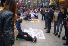 Shenzhen, Chine : danse de jouet de montre Images libres de droits