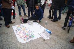 Shenzhen, Chine : danse de jouet de montre Photos libres de droits