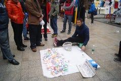 Shenzhen, Chine : danse de jouet de montre Image libre de droits