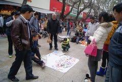 Shenzhen, Chine : danse de jouet de montre Photographie stock