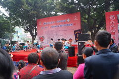 Shenzhen, Chine : exposition d'activité de don du sang Photos libres de droits