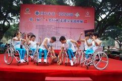 Shenzhen, Chine : exposition d'activité de don du sang Image stock