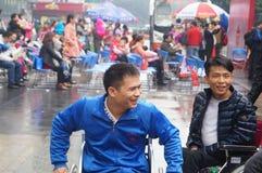 Shenzhen, Chine : exposition d'activité de don du sang Photographie stock