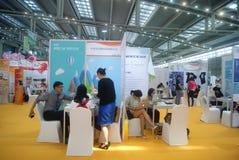 Shenzhen, Chine : Exposition de charité Photographie stock libre de droits