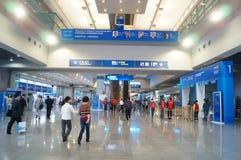 Shenzhen, Chine : Foire de pointe Image libre de droits