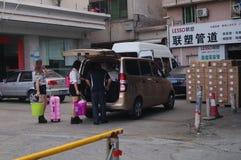 Shenzhen, Chine : le trafic urbain Photos stock