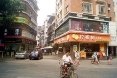 Shenzhen, Chine : les rues et les allées de l'architecture de paysage photo stock
