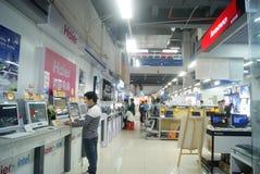 Shenzhen, Chine : Magasins d'électro-ménagers de Suning Images stock