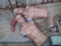 Shenzhen, Chine : mannequins abandonnés Photo stock