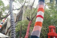 Shenzhen, Chine : Parc créatif de culture d'OCT. photos libres de droits