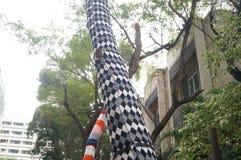 Shenzhen, Chine : Parc créatif de culture d'OCT. photographie stock