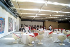Shenzhen, Chinese: Painting Works Exhibition Royalty Free Stock Photos