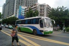 Shenzhen, Chinese: street landscape Stock Images