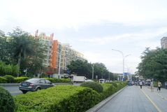 Shenzhen, Chinese: street landscape Stock Photos