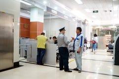 Shenzhen, Chiny: bank sala Zdjęcie Royalty Free