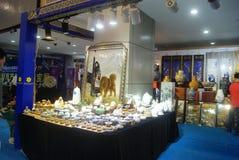 Shenzhen, Chiny: chabet biżuterii wystawy sprzedaże Obrazy Stock
