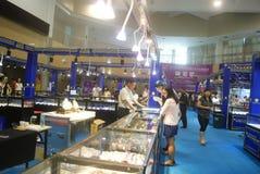 Shenzhen, Chiny: chabet biżuterii wystawy sprzedaże Obraz Royalty Free