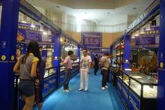 Shenzhen, Chiny: chabet biżuterii wystawy sprzedaże Zdjęcia Royalty Free