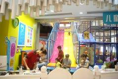 Shenzhen, Chiny: Children rozrywki miasto Obrazy Royalty Free
