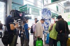 Shenzhen, Chiny: Cześć technika jarmark Obraz Stock