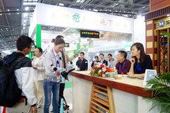 Shenzhen, Chiny: Cześć technika jarmark Obrazy Royalty Free