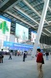 Shenzhen, Chiny: Cześć technika jarmark Fotografia Royalty Free