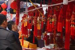 Shenzhen, Chiny: dodatków specjalnych zakupy dla wiosna festiwalu expo Obrazy Royalty Free