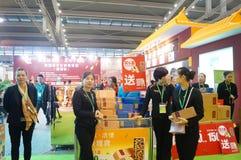 Shenzhen, Chiny: Herbaciany expo obraz stock