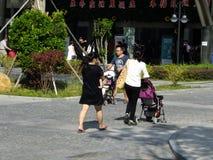 Shenzhen, Chiny: kobiet i dzieci opieki zdrowotnej szpital Zdjęcia Royalty Free