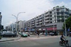 Shenzhen, Chiny: 107 Krajowy Drogowy ruch drogowy Fotografia Royalty Free