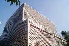 Shenzhen, Chiny: Nanshan Kulturalny i centrum sportowe Obraz Royalty Free