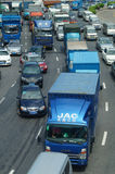 Shenzhen, Chiny: ruchów drogowych dżemów krajobraz Zdjęcia Royalty Free