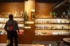 Shenzhen, Chiny: sklepu cleaning dostawy Zdjęcie Royalty Free