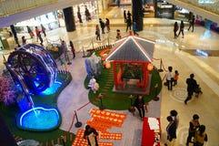 Shenzhen, Chiny: Wystrzał sztuki obrazu cakli wystawa Fotografia Stock