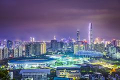 Shenzhen, Cina fotografie stock