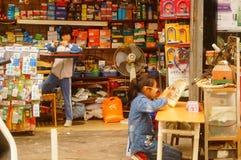 Shenzhen, Cina: allievi femminili Fotografia Stock