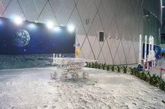 Shenzhen, Cina: Attività lunari cinesi di settimana di consapevolezza di scienza di programma di esplorazione Fotografia Stock