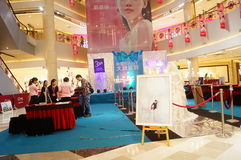 Shenzhen, Cina: attività promozionali di fotografia di nozze Immagini Stock Libere da Diritti