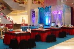 Shenzhen, Cina: attività promozionali di fotografia di nozze Fotografia Stock Libera da Diritti