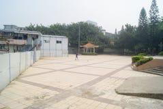 Shenzhen, Cina: caserma di costruzione Immagini Stock Libere da Diritti