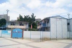 Shenzhen, Cina: caserma di costruzione Fotografia Stock Libera da Diritti